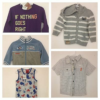 Assorted Boys Baby Clothing Bundle (Near New and Brand New Items) Size 1