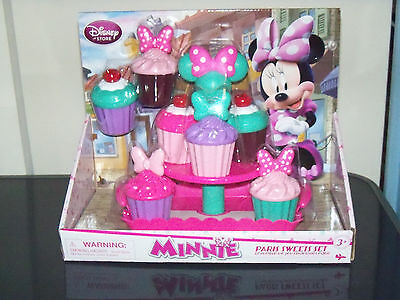Disney Store Minnie Mouse Paris Sweets CupCake Pretend cooking playset toy