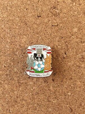 Coventry City FC Coventry Crest Badge White