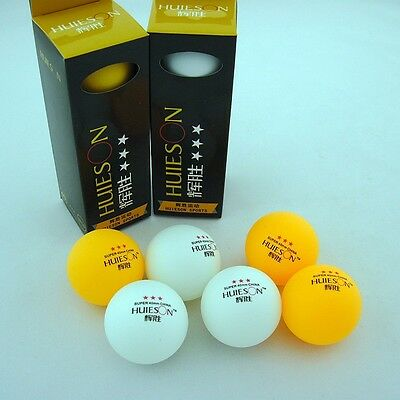 1 boxes (3Pcs) 3-Stars 40mm Olympic Table Tennis Balls Ping pong Ball Orangewhit
