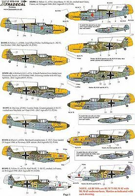 Xtradecal 1/72 Battle of Britain 70th Anniversary 2010 Luftwaffe # 72118
