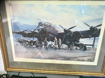 operations on by Robert taylor signed Bomber Harris