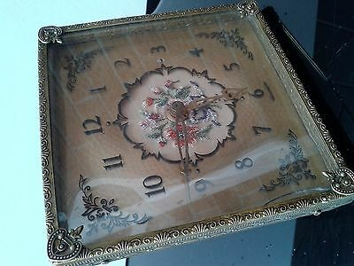 Antique unusual table clock