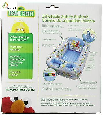 Disney Inflatable Safety Baby Bath tub, Minnie Mouse -Blue/White