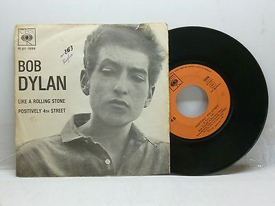 Bob Dylan Like A Rolling Stone - Positively 4Th Street Cbs 1896 Ottimo