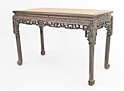 Asian Chinese Style (18/19th Cent) Rosewood Rectangular Center Table