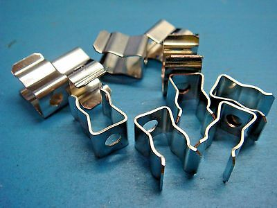 "(10) Littelfuse 101002 1/4"" Cartridge Fuse Clip Holder 15A 250V Chassis Mount"