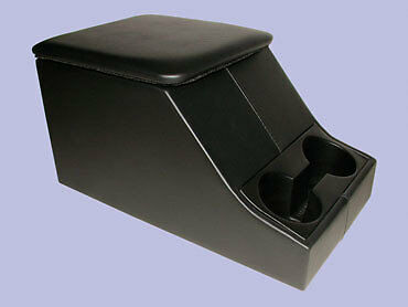 Land Rover Defender 90/110/130 Cubby Box/console & Cup Holder Black-Da2035
