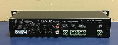Bogen Communications Telephone Paging Access Module TAMB2 53-1900-39A