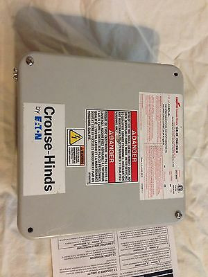 CCBF04SL NEW Crouse Hinds Solar Combiner Box Multiple Strings
