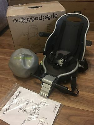 Buggypod Perle Buggy Board Seat For Lascal Grey New Free Postage