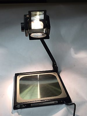 "3M Five ""0"" Eighty-Eight Model Compact Portable Transparency Projector ~"