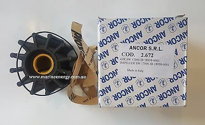 Sherwood 17000 Impeller Replacement (Ancor 2672)