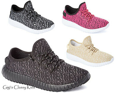 New Women's Knit Sneakers Athletic Tennis Shoes Running Walking Sport Casual