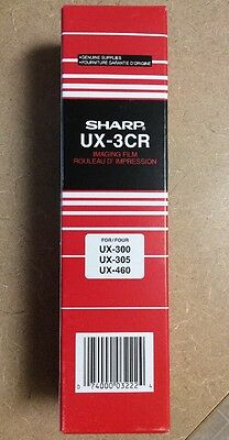 New In Box! Sharp UX-3CR Fax Machine Imaging Film For UX300, UX305 or UX460
