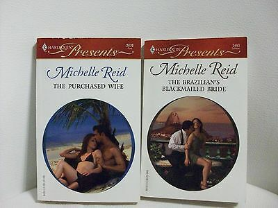 2 Harlequin Presents romances by Michelle Reid(#2470/2493)Addl Bks Ship Free