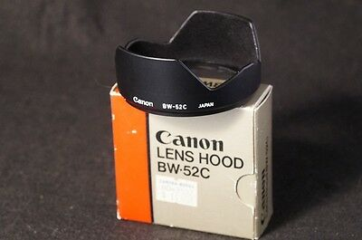 Original Canon BW-52C lens hood NEW for 24mm f2 f2.8