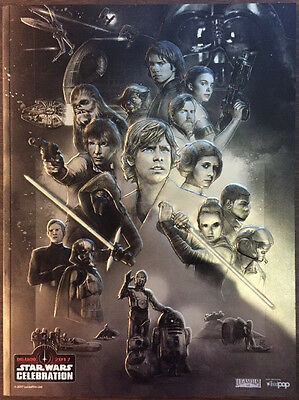 Star Wars Celebration 2017 Official Store PROGRAM Store Exclusive Guide Book