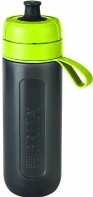 BRITA Fill and Go Active Sport Water Filter Bottle BPA Free Plastic - Lime Green