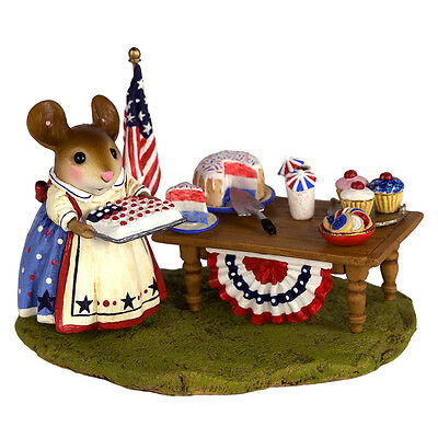 PICNIC IN THE PARK by Wee Forest Folk, WFF# M-570s,  PATRIOTIC, LTD New 2016