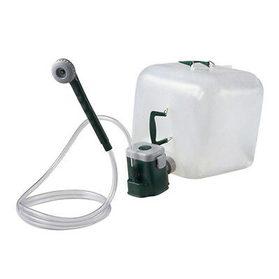 NEW Coleman Portable Shower Water Carrier Kit with Motor Pump Outdoor Camping