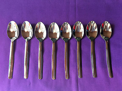 Stainless Steel Tea Spoon pack of 8 Brand New
