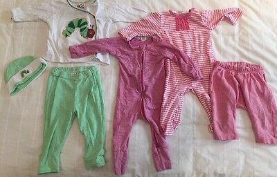 Baby girls winter clothing Size 00 - 3-6 Months - Excellent Condition