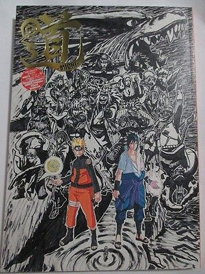 Naruto Exhibition Official Guide Book Michi Masashi Kishimoto Art Book F/S