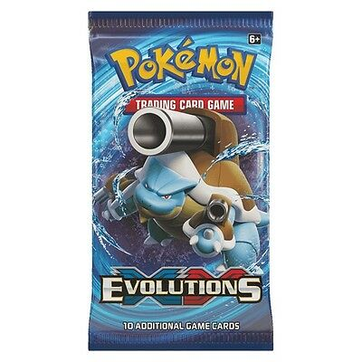 XY12 Evolutions Booster Pack - Pokemon Trading Card Game - UK Seller