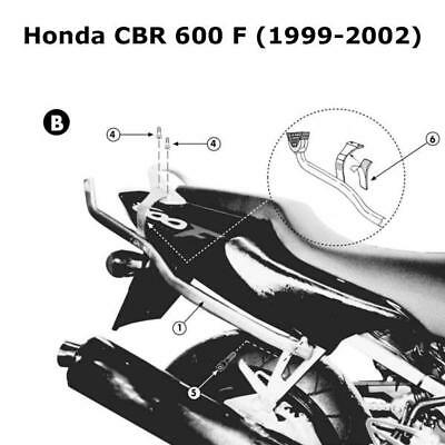 Kappa K2520 Honda Specific Rear Top Box Rack - Honda CBR 600 F (1999-2009)
