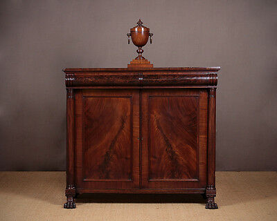 Antique William IV Chiffonier Side Cabinet c.1830.
