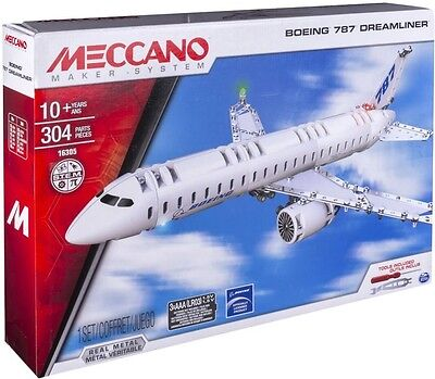 NEW Meccano Boeing 787 Dreamliner from Mr Toys
