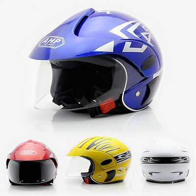 Children's Motorcycle Helmet Warm Comfortable Motor Safety Bike For AGE3-9