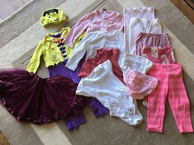 Girls 12-18 Months Clothing Bundle 13 Pieces