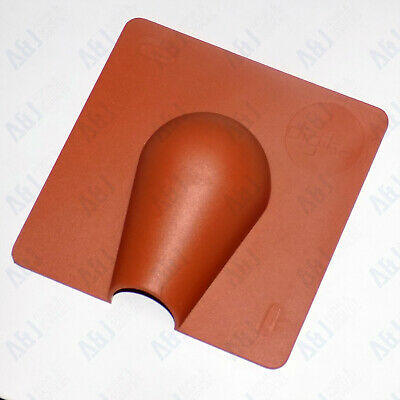 Exterior Cable Entry / Brick Blast Cover Plate Brown