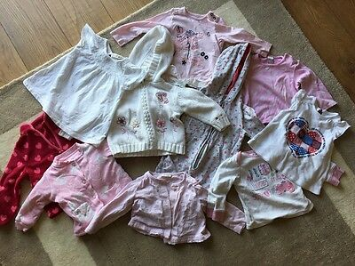 Girls 9-12 Month Clothing Bundle 10 Pieces