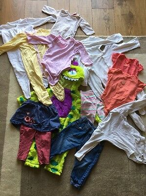 Girls 9-12 Month Clothing Bundle 13 Pieces