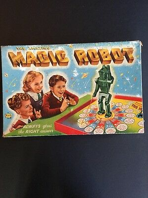 The Amazing Magic Robot - Vintage Board Game