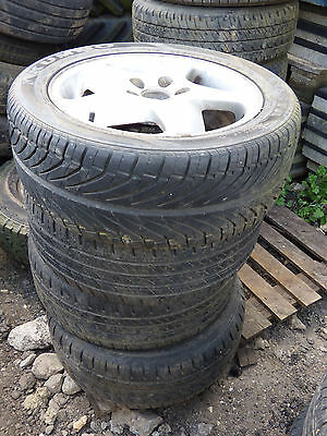 205/502 R16 x4 alloys and tyres