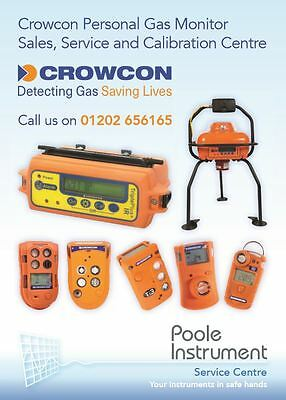 Crowcon T3 T4 Gas Pro Triple Plus Calibration From Poole Instrument Calibration