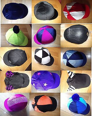Hat Silk / Skull Cap Cover / Various Colours: Ventair, plain, velvet, bobbles +
