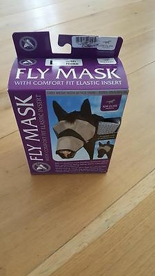 KM Elite Fly Mask with nose and ears