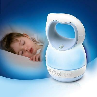 Tell Me a Story Bedtime Lamp Baby Child Toddler Musical Nightlight Projector App
