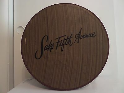 Vintage Saks Fifth Avenue Hat Box