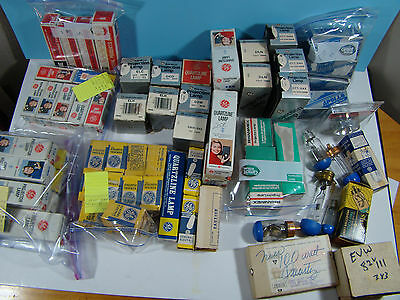 New old Stock! LOT of 70 Assorted Projecion Lamp Projector Bulbs