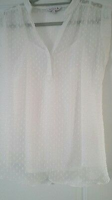 Maternity top blouse * size 10 * work