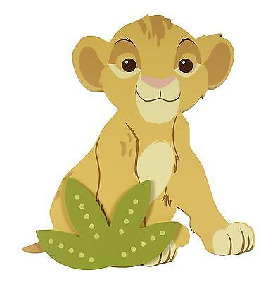 Lion King Shaped Wall Art Disney Decor Baby Toddler Kids Nursery Girl Boy New