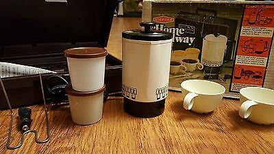 Vintage Empire Home and Away 12 piece coffee maker travel kit