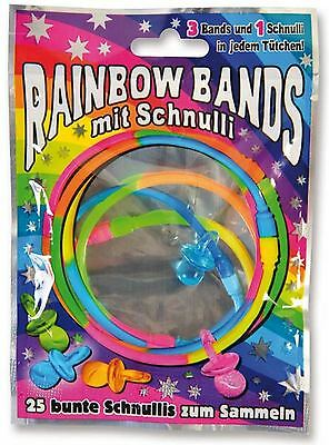 60 NEW Panini Rainbow Bands Wholesale Toys Pocket Money Blind Party Loot Pinata