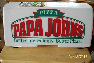 Papa Johns Delivery Lighted sign